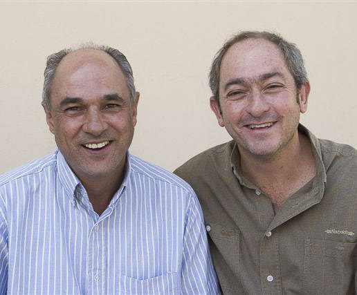 Nando's co-founders Fernando Duarte and Robert Brozin